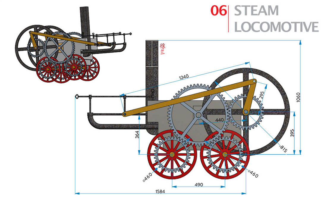 6 | Steam locomotive