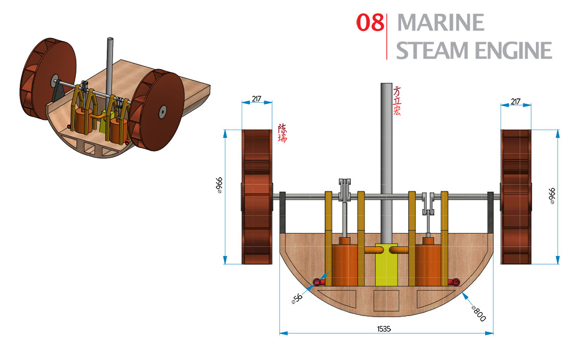 8 | Marine steam engine