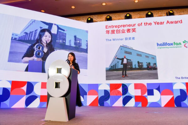 Great British Engineering company wins Chinese business award