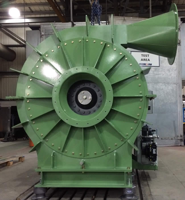 Mineral Wool Industrial Fan